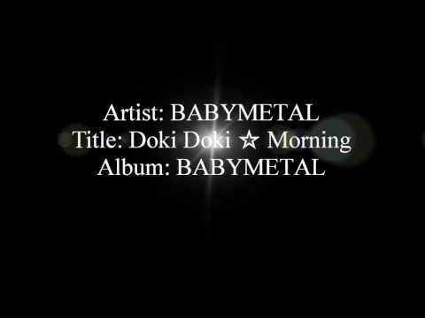 BABYMETAL - Doki Doki Morning lyrics