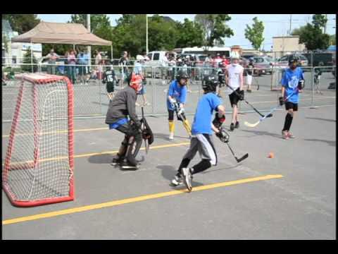 Kids 4 Kids Ball Hockey Tournament Youtube