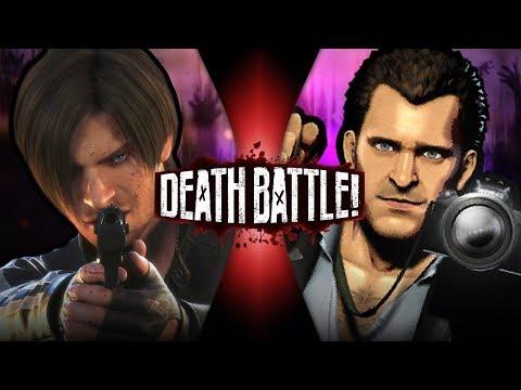 Leon Kennedy VS Frank West (Resident Evil VS Dead Rising) | DEATH BATTLE