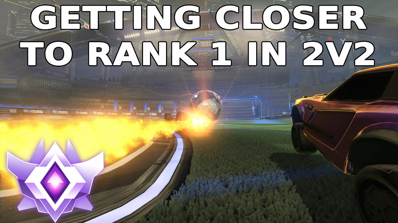 GETTING CLOSER TO RANK 1 IN 2V2 | SOLO QUEUE TOP 100 2V2