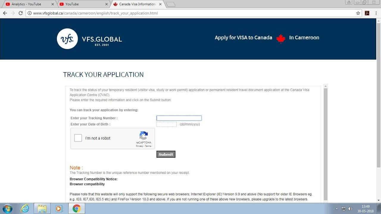 Canada Student Visa Application process Status Check Latest 2018