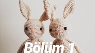 Amigurumi tavşan Amigurumi perde tutucu