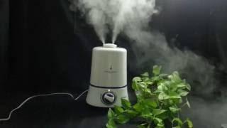 cool mist ultrasonic air humidifier air purifier dem330