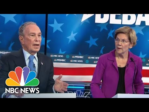 Elizabeth Warren Targets Mike Bloomberg For His Company's Non-Disclosure Agreements | NBC News