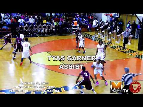 [ AMAGYLON Vidz ] Peoria High @ Peoria Manual (Manual Senior Night) 2013-2014