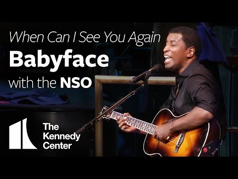 Babyface -  When Can I See You Again  with the National Symphony Orchestra