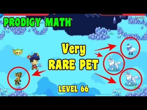 Very Rare Pet Prodigy Math Game Youtube