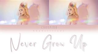 CHANMINA (ちゃんみな) - Never Grow Up (JPN, ROM, ENG) Lyrics
