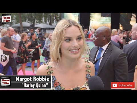 Margot Robbie Is All Smiles At Suicide Squad European Premiere