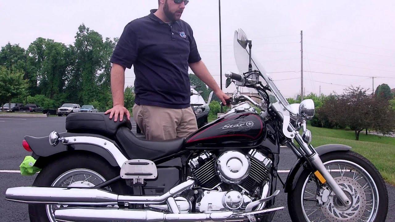 2011 Yamaha VStar 650 Custom - YouTube