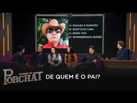 Rodriguinho e Maurício Mattar adivinham quem são os pais dos famosos