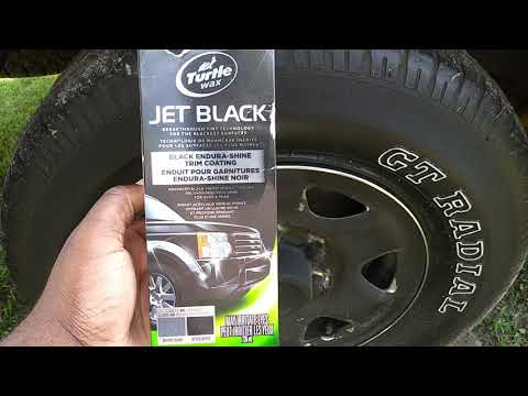 Turtle Wax Endura Shine Trim Coating Update Review