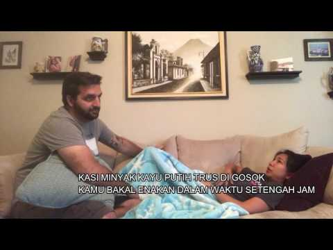 BULE RESEK VS ISTRI ANEH |US VS INDO|| Eng with bahasa sub|| VLOG