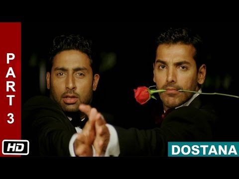 Love Story  Part 3  Dostana 2008  Abhishek Bachchan, John Abraham, Priyanka Chopra