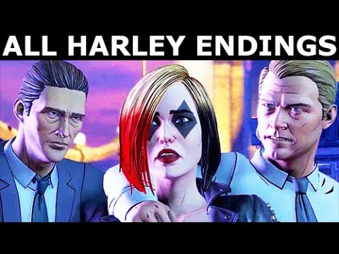 Download All Harley Quinn's Endings - BATMAN Season 2 The Enemy Within Episode 4: What Ails You