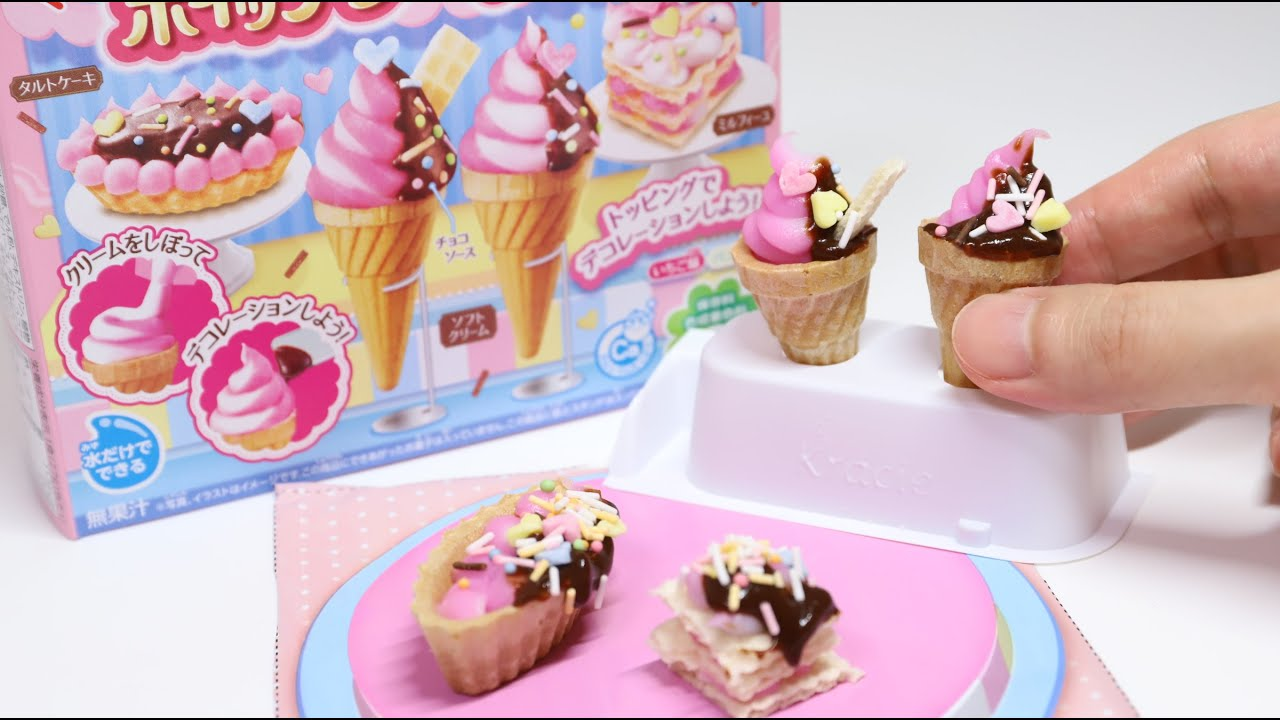 Popin Cookin Whipped Cream Cake Shop New DIY Candy Japanese Souvenir