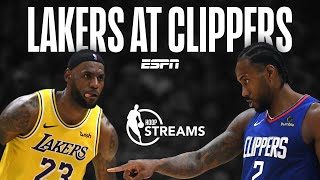 LeBron vs. Kawhi: Lakers-Clippers Preview Live | Hoop Streams