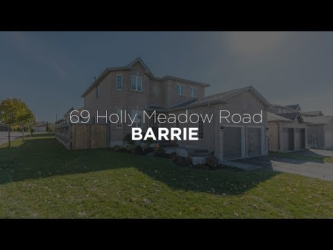 69 Holly Meadow Road, Barrie #erincorcoranrealestate