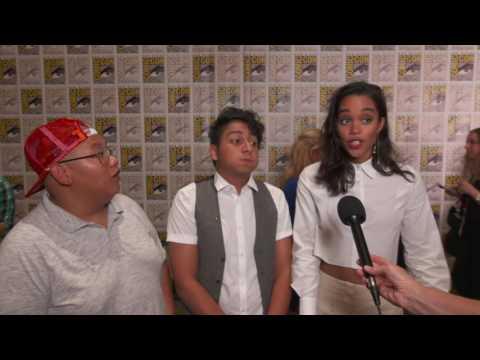 SpiderMan: Homecoming: Jacob Batalon, Tony Revolori, Tom Holland & Laura Harrier