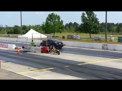 1/4 mile run - Pontiac G8 GT @ Silver Dollar Speedway