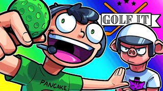 Golf It Funny Moments - Falling From the Sky Battle Royale Style!