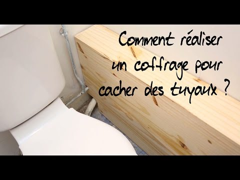 comment r aliser un coffrage pour cacher des tuyaux. Black Bedroom Furniture Sets. Home Design Ideas