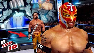 Top 10 Craziest Final Raw & SmackDown Cutscenes Before Wrestlemania in WWE Games