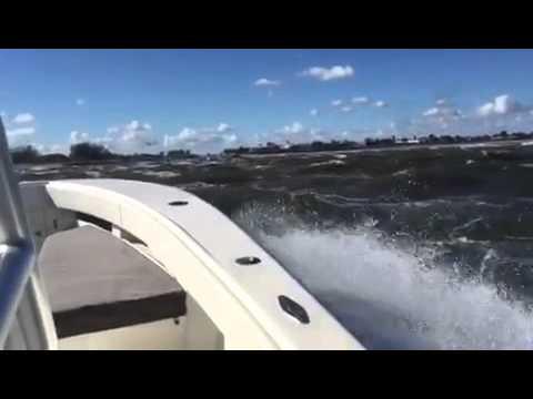 Jupiter Inlet on  a 34 Sea Vee Fishing Boat