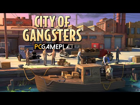 City of Gangsters Gameplay (PC)