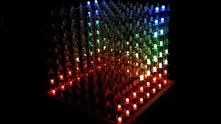 Real Time Communication with an LED Cube (Unity5 and Arduino Serial)
