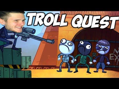 видео: Затроллил ЧИТЕРА - Troll Face Quest Internet Memes