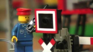 Lego train railroad crossing 12V 7866 7740 7760 7860