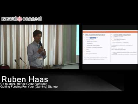 Getting Funding For Your (Gaming)Startup | Ruben HAAS