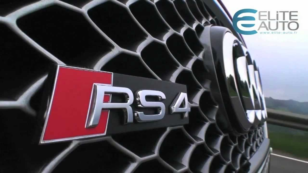 Download Essai Audi RS4 V8 4,2L FSI 450ch
