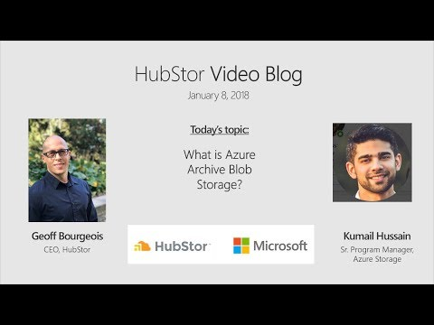 What is Azure Archive Blob Storage?