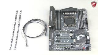 Tuto MSI - Comment installer un ruban LED 5050 RGB au connecteur JLED1