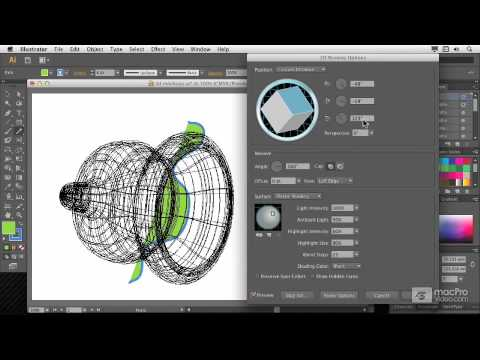 how to draw 3d objects in illustrator