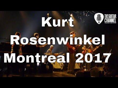 Kurt Rosenwinkel band live  - 2017 Montréal Jazz Festival