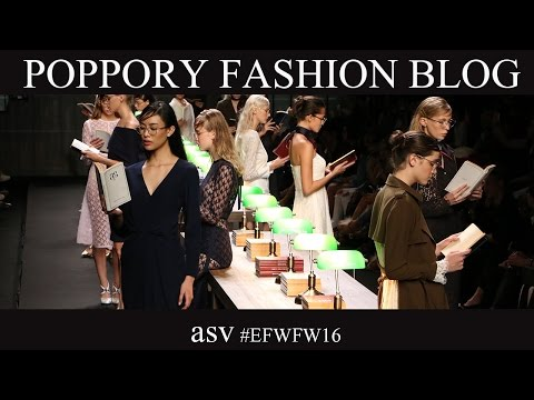 asv  [ELLE ELLEMEN FASHION WEEK FW2016] VDO BY POPPORY