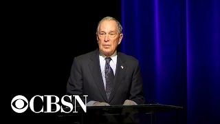 Michael Bloomberg apologizes for stop-and-frisk policy