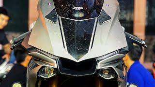 Rửa xe mô tô siêu sạch #shorts