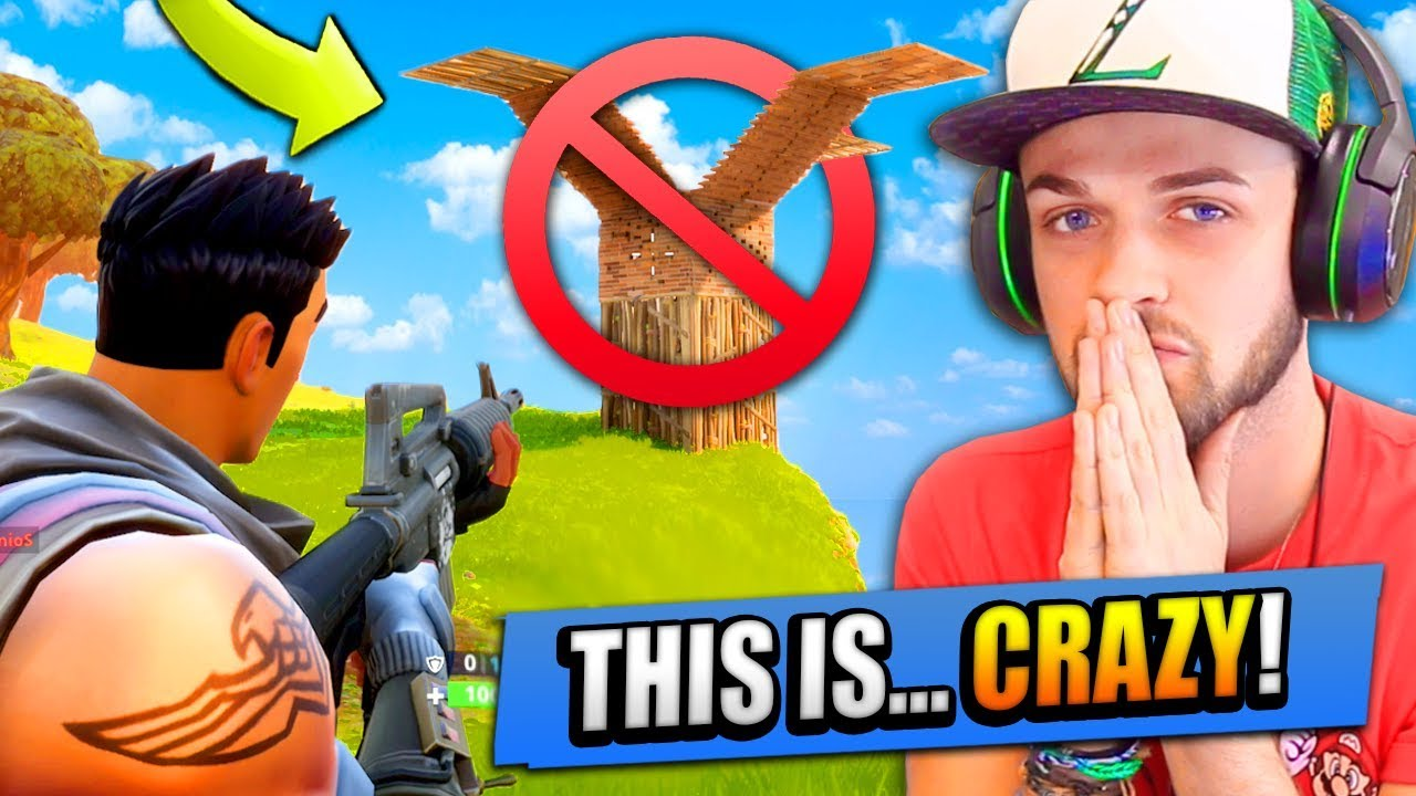 No Build Challenge In Fortnite Battle Royale Youtube