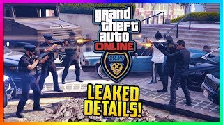 GTA 5 NEW COPS & CROOKS DLC - Police LEAK Update, Release Date, Outfits/Vehicles & MORE Leaked!