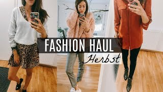 HERBST TRENDS FASHION HAUL 2018