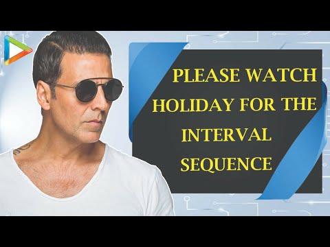 Akshay Kumar Exclusive  On Holiday Part 4
