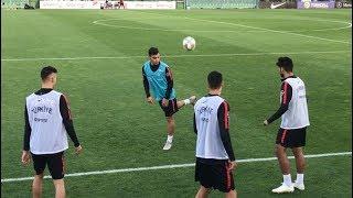 FutbolArena, Milli Takım antrenmanında
