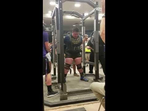 World Record SQUAT. 1025lbs  Joseph Pena Holy Cross High School  San Antonio,Texas   The Texas Boys