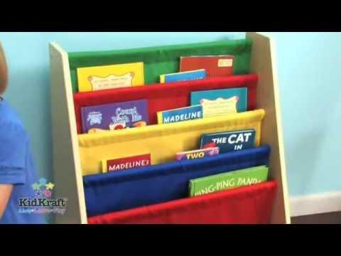 Primary Sling Bookshelf 14226 Kidkraft UK Amadokidcouk