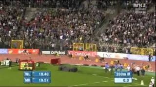 YOHAN BLAKE 19 26 2nd fastest 200m of all time Men Brussels Diamond League 2011