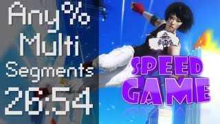 Speed Game Hors-série: Mirror's Edge en 26:54 !